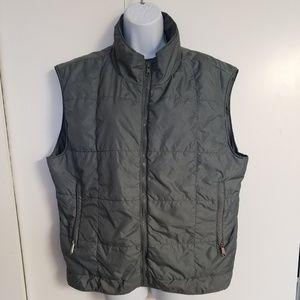 L.L.Bean Zip Up Semi-Puff Vest